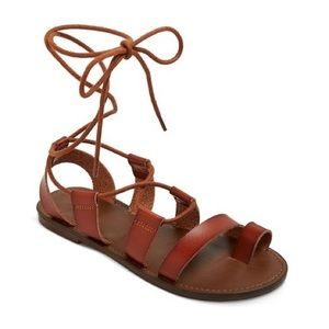 Mossimo brown gladiator sandals